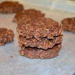No-Bake Chocolate Peanut Butter Oatmeal Cookies