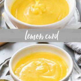 lemon curd collage