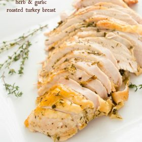 simple-herb-garlic-roasted-turkey-breast1 | flavorthemoments.com