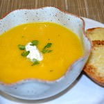 Butternut Squash Potato Leek Soup