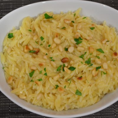 "Orzo ""Mac & Cheese"""