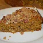 Pumpkin Oat Pecan Coffee Cake