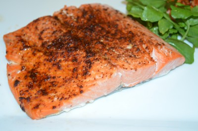 Spice-Rubbed Salmon Fille