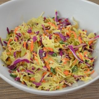 Curried Cabbage Coleslaw