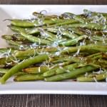Roasted Green Beans with Parmesan