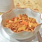 Apricot-Coconut Granola