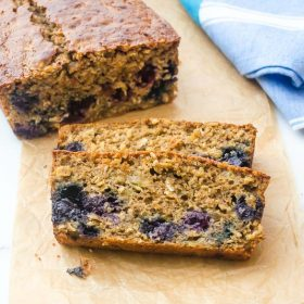 banana-blueberry-oatmeal-bread1 | flavorthemoments.com