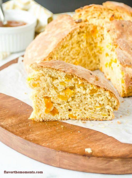 apricot-orange-irish-soda-bread1 |  flavorthemoments.com