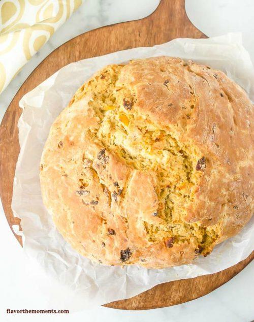 apricot-orange-irish-soda-bread2 |  flavorthemoments.com
