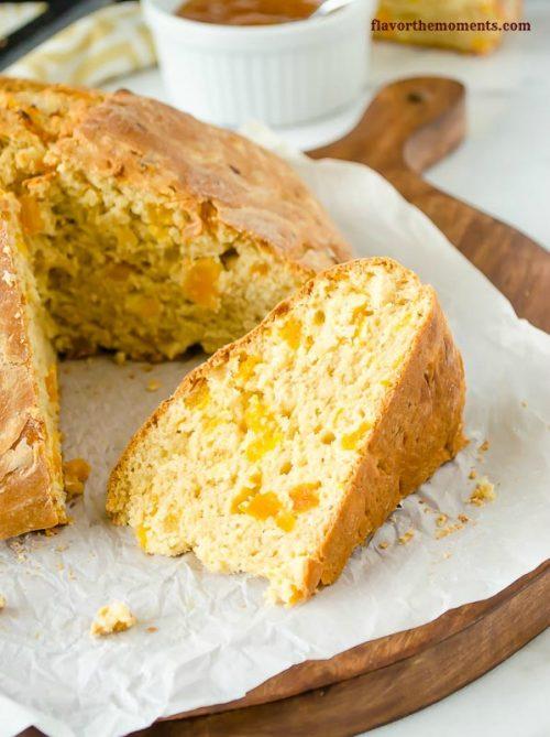 apricot-orange-irish-soda-bread4 | flavorthemoments.com