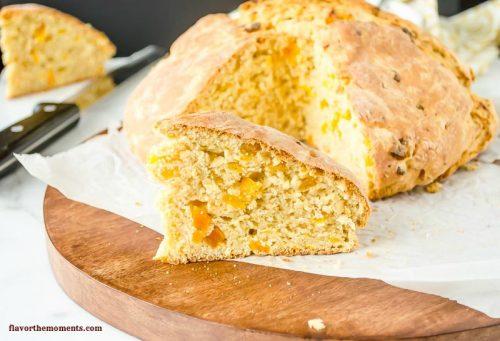 apricot-orange-irish-soda-bread5 | flavorthemoments.com