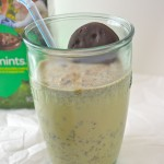 Thin Mint Milkshakes