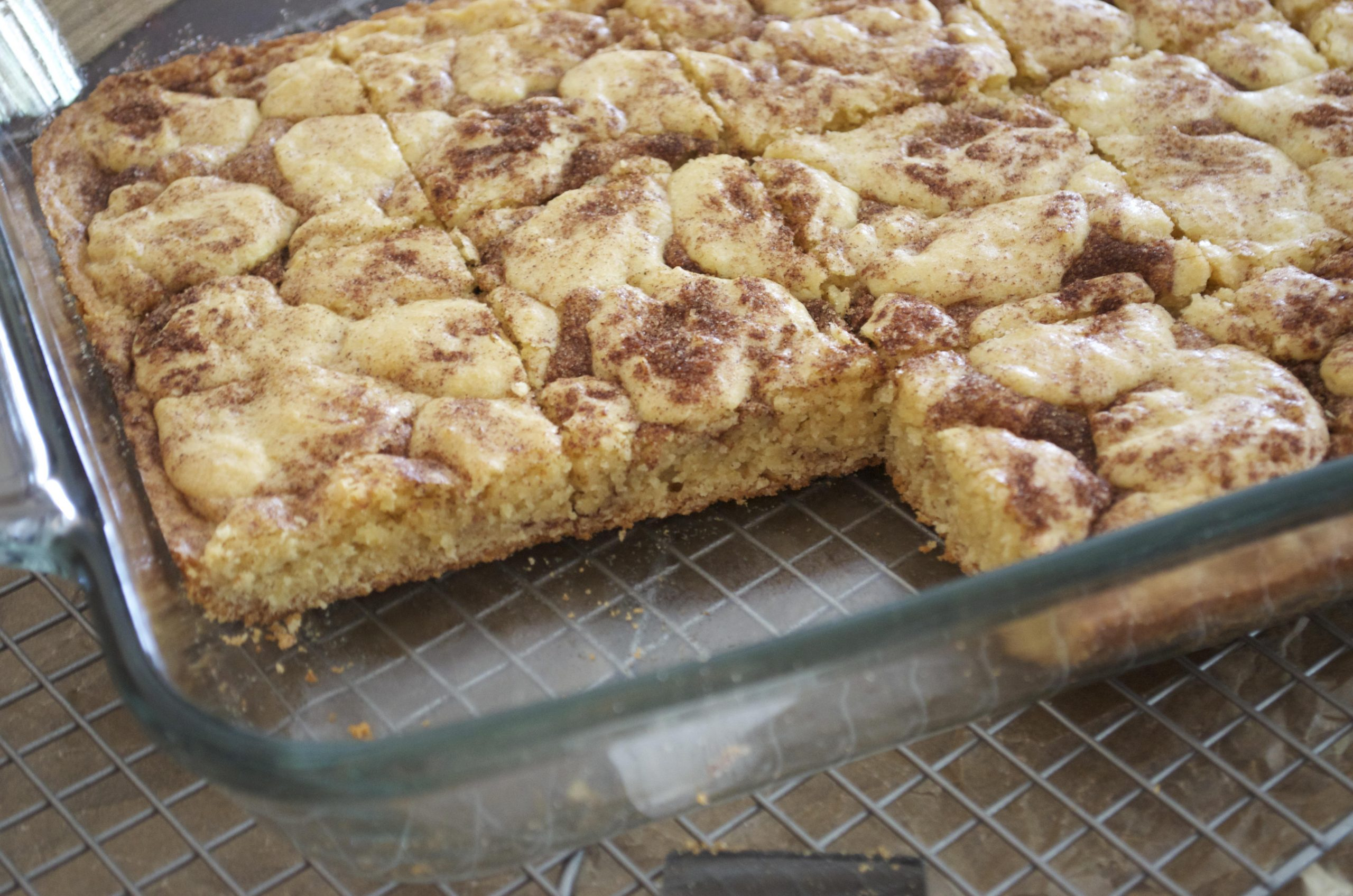 snickerdoodle bars | flavor the moments