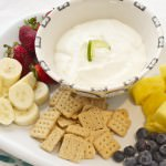 Fresh Key Lime Greek Yogurt Dip