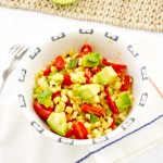Warm Roasted Corn Salad