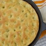 One Hour Rosemary Focaccia Bread