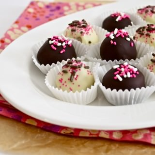Neapolitan Oreo Cookie Dough Truffles