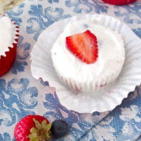 frozen fruity yogurt cups
