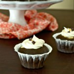 Black Bottom Cupcakes {All Dressed Up}