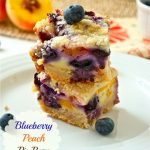 Blueberry Peach Pie Bars