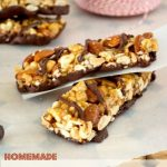 Homemade Chocolate Peanut Butter KIND Bars