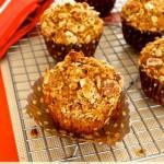 pumpkin oat muffins1