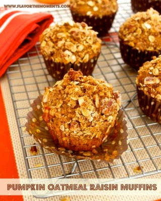 Pumpkin Spice Oatmeal With Raisins And Pecans Recipes — Dishmaps