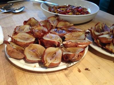 roasted onions