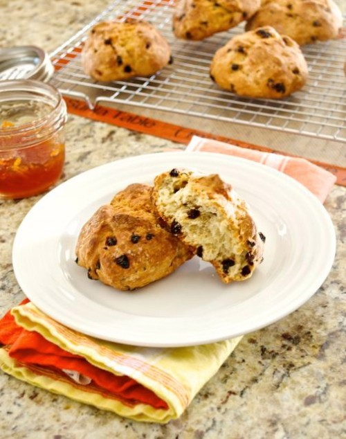 mini irish soda bread with blood orange marmalade2