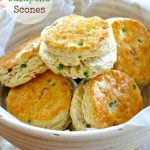 Buttermilk Bacon Jalapeño Scones