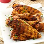 Barbecue Rubbed Grilled Chicken