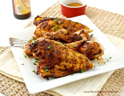 bbq rub grilled chicken5