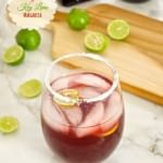 Pomegranate Key Lime Margarita