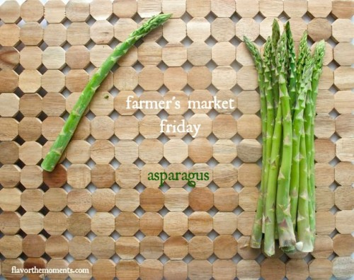 grilled asparagus and lemon farro salad