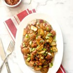 Maple Bacon Roasted Red Potato Salad