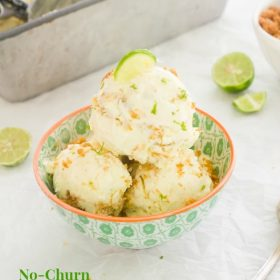 no churn key lime pie ice cream1 flavorthemoments.com