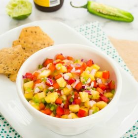fresh pineapple salsa1 | flavorthemoments.com