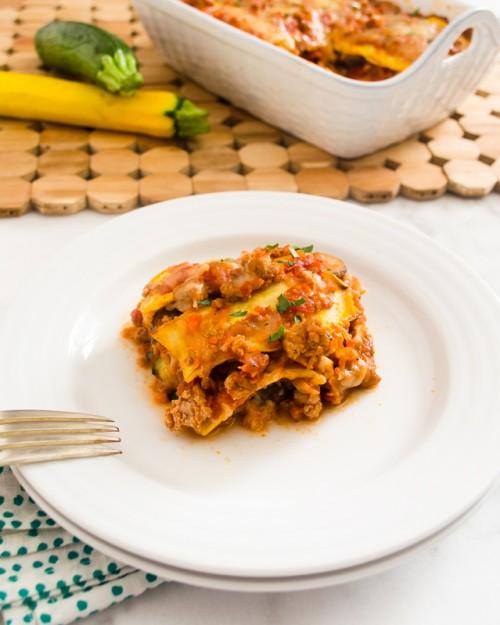 grilled zucchini lasagna6 | flavorthemoments.com