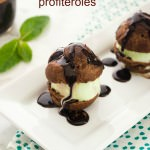 mint chocolate profiteroles1 | flavorthemoments.com