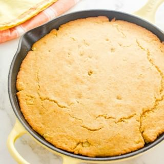 Buttery Maple Skillet Cornbread