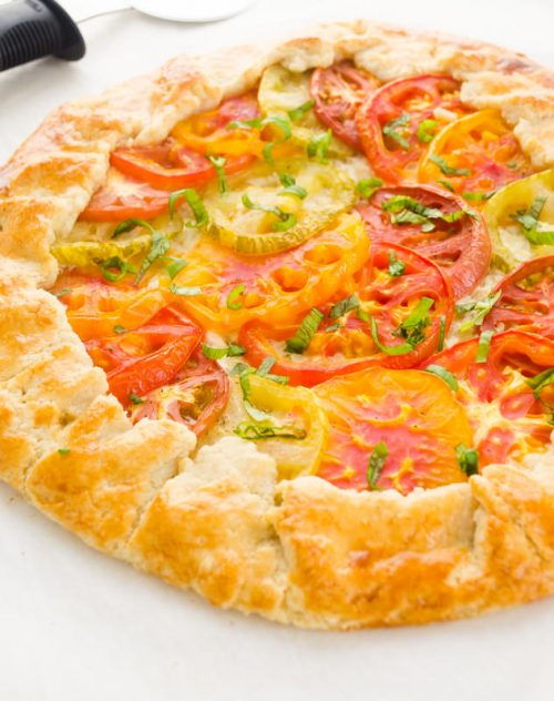 heirloom-tomato-galette-farmers-market-friday3 | flavorthemoments.com ...
