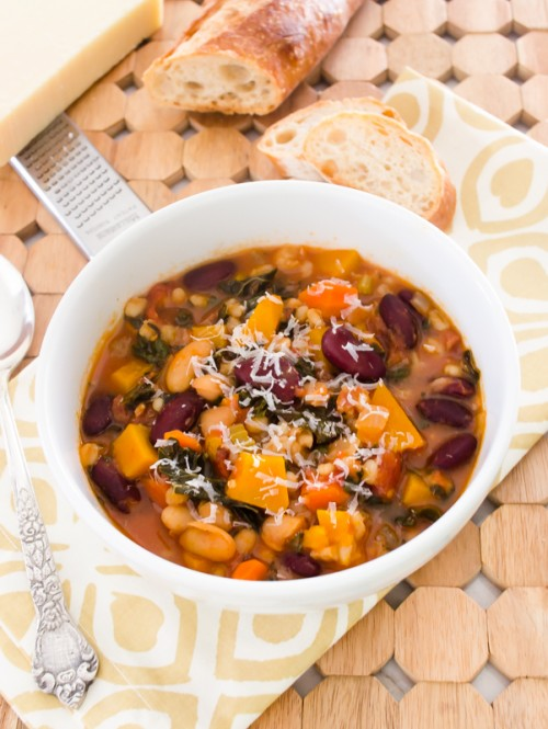 autumn minestrone soup {gluten free}2 | flavorthemoments.com