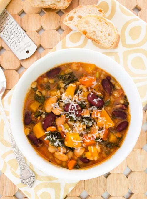 autumn minestrone soup {gluten free}3 | flavorthemoments.com