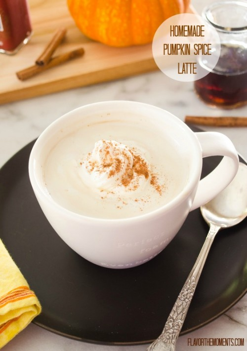 homemade-pumpkin-spice-latte1 | flavorthemoments.com
