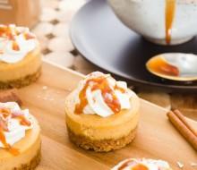 mini-salted-caramel-pumpkin-cheesecakes1  flavorthemoments.com