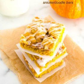 pumpkin-snickerdoodle-bars1 | flavorthemoments.com