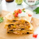 chicken-enchilada-quesadillas1 | flavorthemoments.com