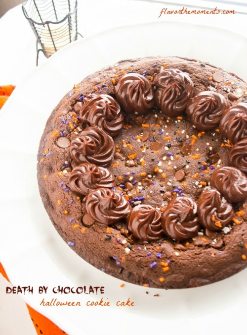 death-by-chocolate-halloween-cookie-cake1    flavorthemoments.com