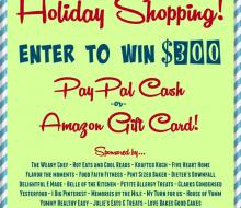 jumpstart holiday shopping $300 giveaway