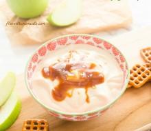 salted-caramel-greek-yogurt-dip1 | flavorthemoments.com